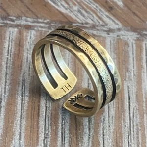 K&R Silpada Brass Toe Ring